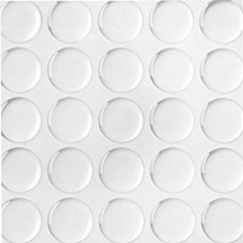 Clear Dome One inch (25.4mm) round